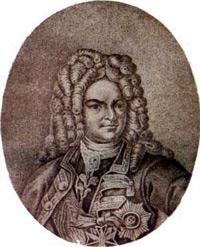 Яков Вилимович Брюс (1670-1775)