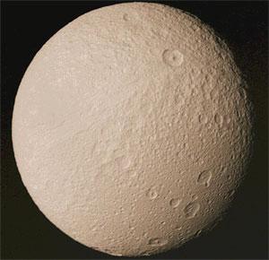 Спутник Сатурна - Тефия