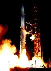 """Запуск """"Пионера-10"""" в марте 1972 года."""