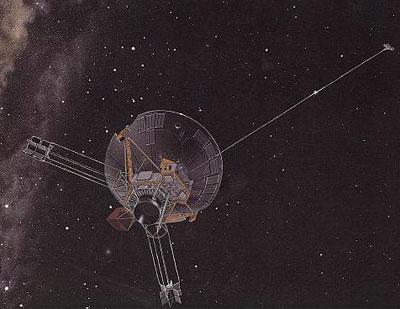 """""""Пионер-10"""" - полет в межпланетном пространстве."""