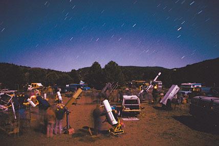 Телескопы в работе