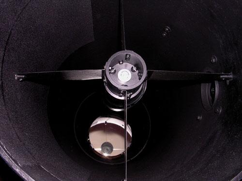 Труба телескопа после чернения