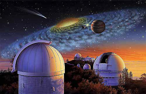 Lick Observatory, Mt. Hamilton, California