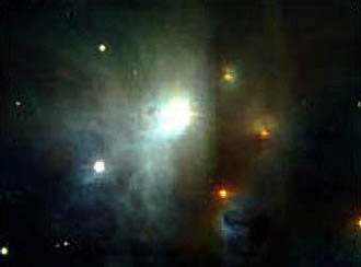 Протозвезда, изображение с сайта NASA
