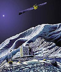 """Зонд """"Розетта"""" высадит на поверхность кометы спускаемый аппарат"""