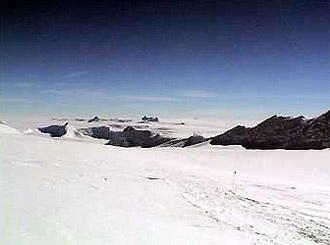 Ледяная пустыня. Фото с сайта kensclimbingforkids.com