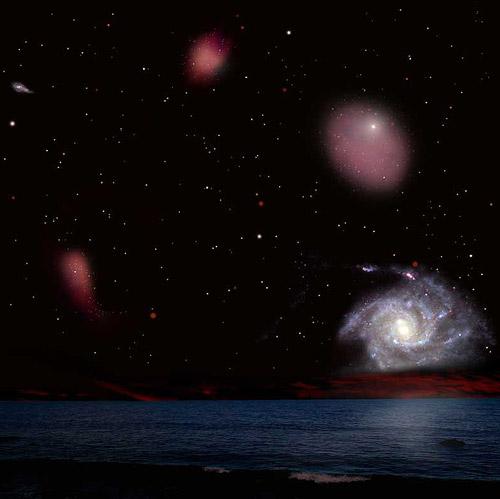 Многообразие мира галактик