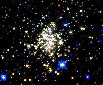 Скопление Arches, изображение с сайта c-science.com