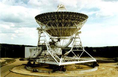 Головной 32-м радиотелескоп в Светлом под С.-Петербургом