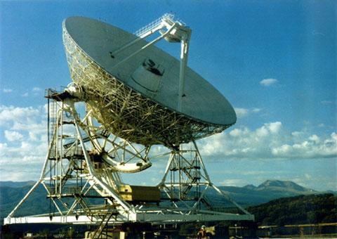 32-м антенна в Зеленчукской, Северный Кавказ (недалеко от РАТАН-600)