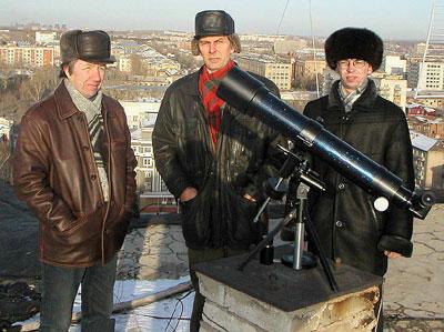 """""""Первый свет"""" для ТАЛ-75RS: команда разработчиков провела первые наблюдения Солнца на крыше здания НПЗ."""