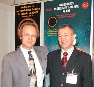 Вместе с австрийским продавцом наших телескопов ТАЛ Лайошом Санто