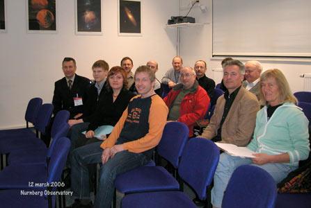 Вместе с немецкими любителями астрономии в народной обсерватории Нюрнберга