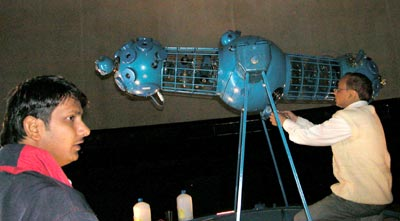 Обслуживание главного аппарата планетарий
