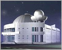 Проект нового здания планетария с 15-метровым куполом