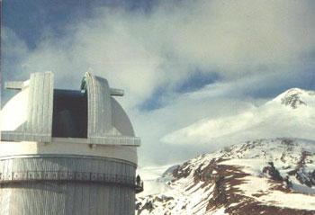 """2-м телескоп системы Ричи-Кретьена фирмы """"Карл Цейсс Йена"""""""