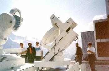 44-см горизонтальный солнечный телескоп АЦУ-26