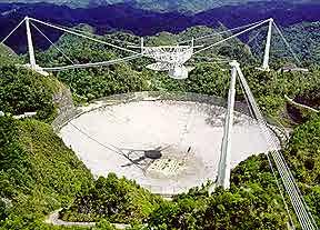 305м радиотелескоп обсерватории Аресибо