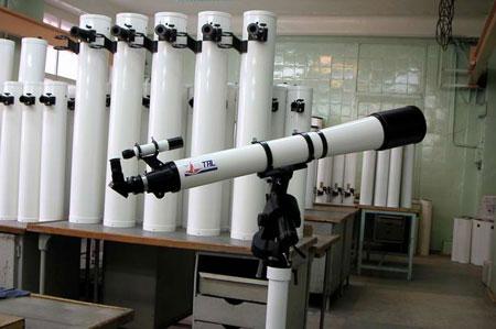 ТАЛ-125 на фоне Ньютоновских труб.