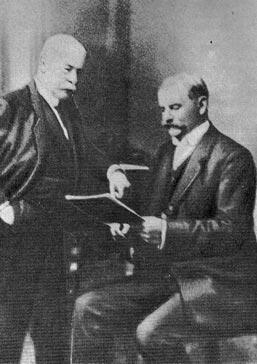 Мальцов (слева) с Баклундом
