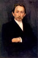Портрет Аполлинария Михайловича Васнецова. 1897.