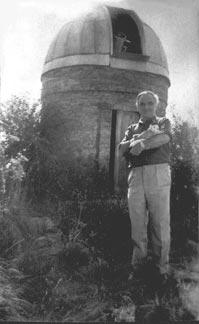 Л.Л. Сикорук у своей обсерватории