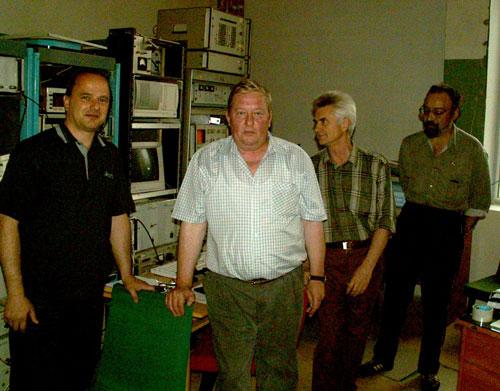 Аппаратурная комната РТ-64 «Медвежьи Озера»