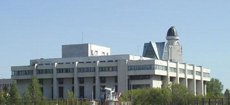 ОЦДО (бывший Дворец пионеров) Архангельска. Фото с сервера мэрии г.Архангельска.