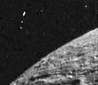 НЛО на снимке зонда «Клементина».