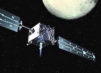 Smart-1 выходит на окололунную орбиту