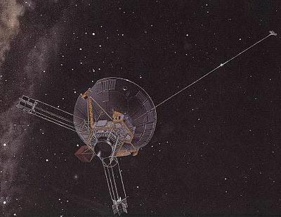 Пионер 10 в межпланетном пространстве