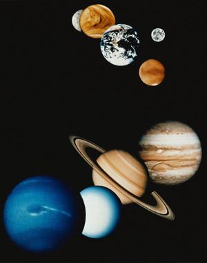 Солнечная система - совокупность небесных тел